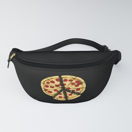 Pizza Peace Sign Pasta Lover Gift Fanny Pack