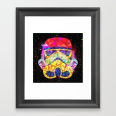 SpaceStorm Framed Art Print