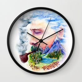 Divine Distractions Wall Clock
