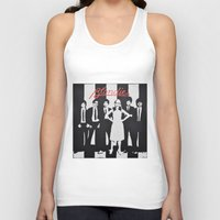 blondie Tank Tops featuring Blondie Stencil by Michellehill