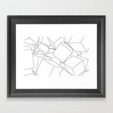 Cuberic Framed Art Print