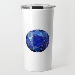 Sapphire Gem Travel Mug