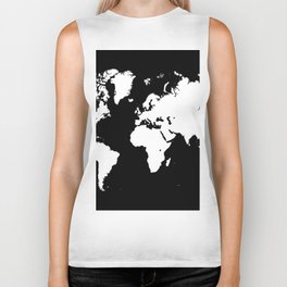 Design 69 world map Biker Tank