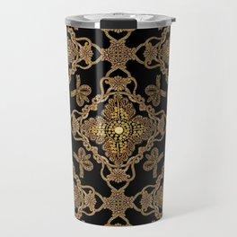 Beaded Baroque Travel Mug