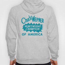 Boxing and Boxers: Chuck Wepney 70s Typography Hoody
