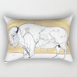 Bison Bison Rectangular Pillow
