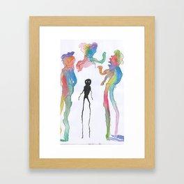 Just Different Framed Art Print