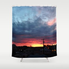 Salvation Army Sunset 118 ave, 95 st. Shower Curtain