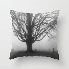 Foggy Morning 2 Throw Pillow