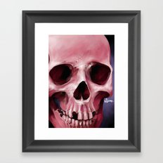 Skull 8 Framed Art Print