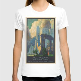 Vintage poster - Chicago T-shirt