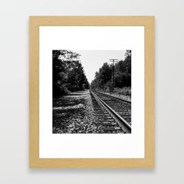 The Railroad Framed Art Print