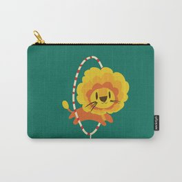 Lion hopped through a loop Carry-All Pouch