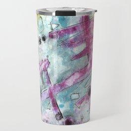 Abstract Art - Moving Travel Mug