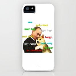 Putin Doge iPhone Case