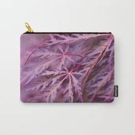 Japanese Maple Macro Carry-All Pouch