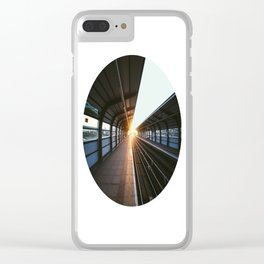 The light at the end of the tunnel Clear iPhone Case