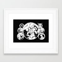 samus Framed Art Prints featuring Samus by Pajarona