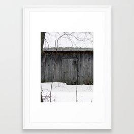 Weathered world Framed Art Print