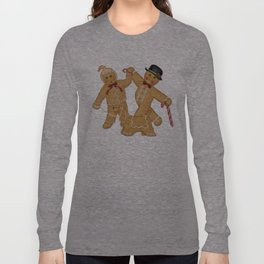 Gingerbread Family Winter Fun Long Sleeve T-shirt