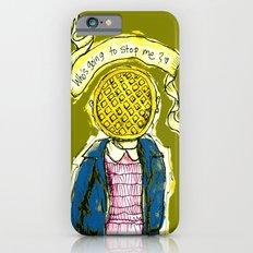 Be Brave Eleven - Eggo head iPhone 6s Slim Case
