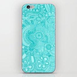 millions aqua iPhone Skin