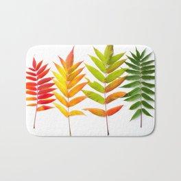 Rainbow Sumac for Autumn in Canada Bath Mat