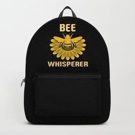 Bee Whisperer | Bees Honey Beekeeper Hive Backpack