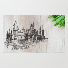 Hogwarts School of Witchcraft and Wizardry Rug