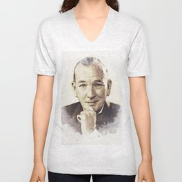 Noel Coward Unisex V-Neck