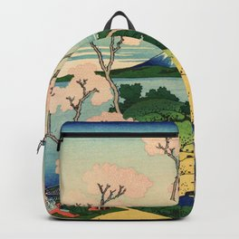 Fuji from Goten-Yama (High Resolution) Backpack