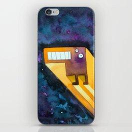 Tetris Monster Zooming iPhone Skin