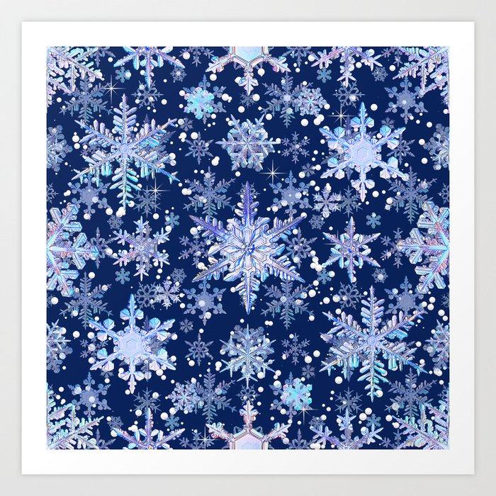 Snowflakes #3 Kunstdrucke