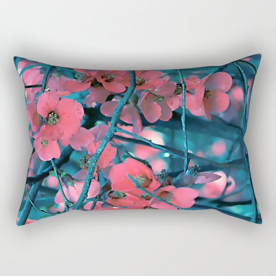 Floral abstract(61) Rectangular Pillow