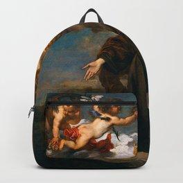 "Sir Anthony van Dyck ""Saint Rosalie in glory"" Backpack"