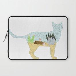 Succulent Terrarium Cat Laptop Sleeve