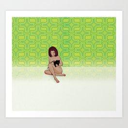 Nude Dimensions Nº3 Art Print