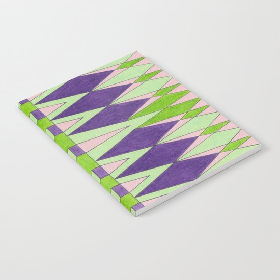 Retroled Notebook