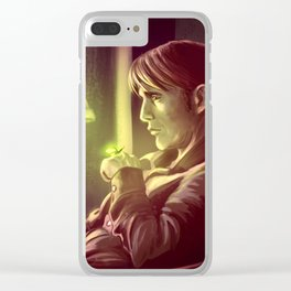 Firefly Dream Clear iPhone Case