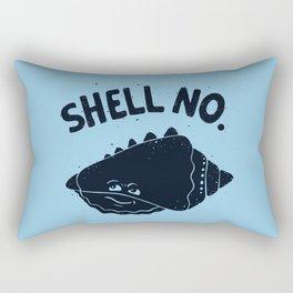 (S)HELL NO. Rectangular Pillow