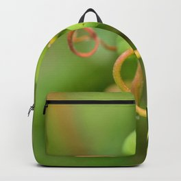 Grapes and vine tendrils Backpack