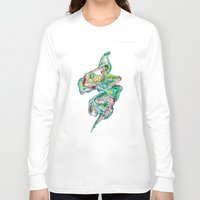 river Long Sleeve T-shirts featuring River by Angie Pagan