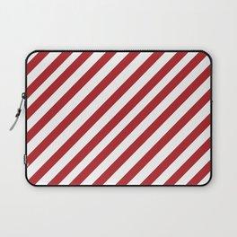 Candy Cane - Christmas Illustration Laptop Sleeve