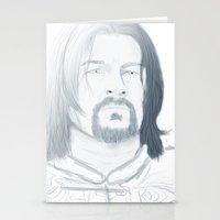 gondor Stationery Cards featuring Boromir of Gondor by Daniella Walker