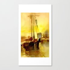 BOSTON 2 - GOLD Canvas Print