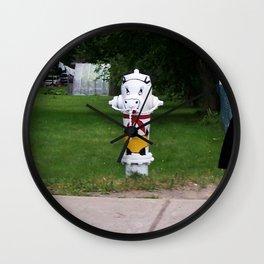 Funny Fire Hydrant Wall Clock