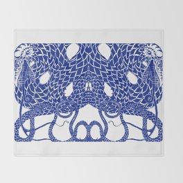 Blue Double Throw Blanket
