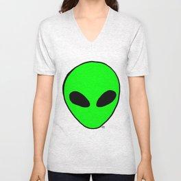 alien Unisex V-Neck