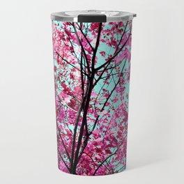 Autumn Pink Travel Mug