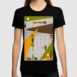 Explosion Of Rectangles T-shirt